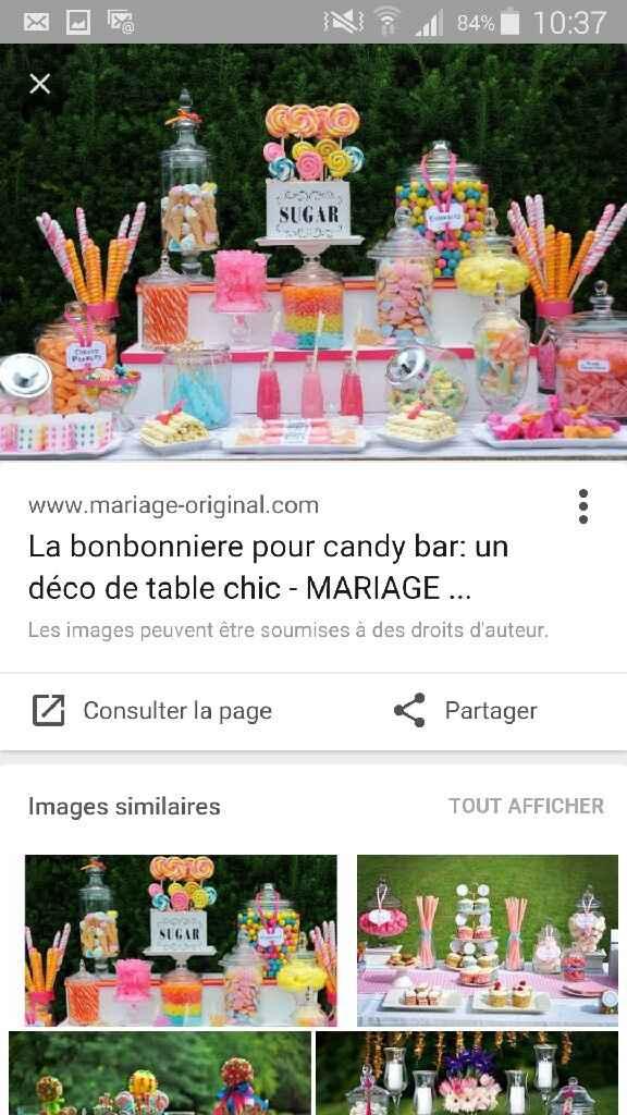 J'ai rêvé d'un candy bar - 1