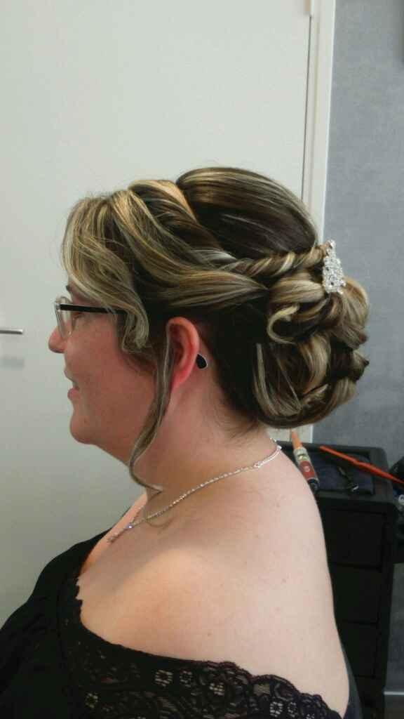 Mon essai coiffure 2!!! - 2