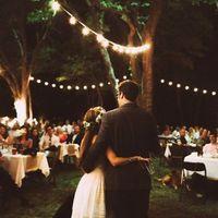 Mariage ou une partie de soirée en extérieur - 2