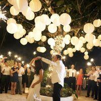 Mariage ou une partie de soirée en extérieur - 3