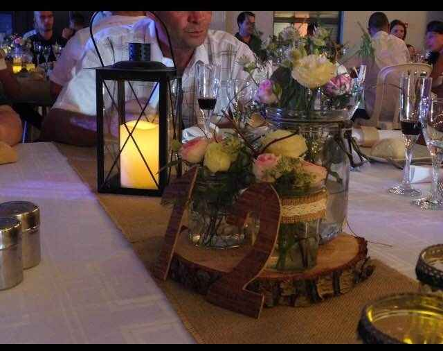 table déco champetre