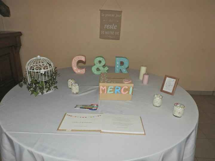 Mariage du 07/10/17 décoration - 4