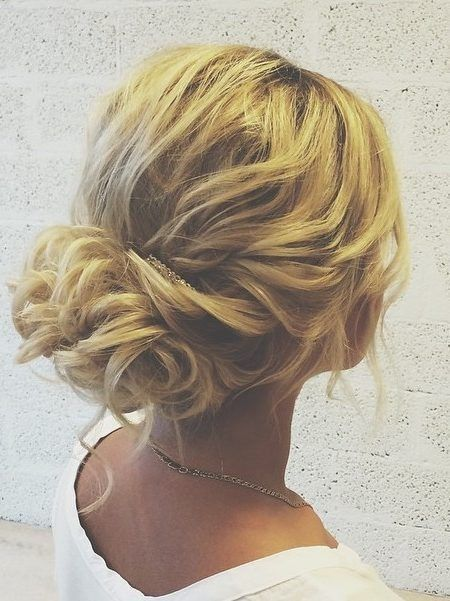 Inspiration : les coiffures des mariées 23