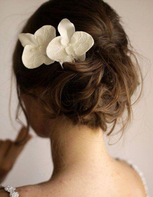Inspiration : les coiffures des mariées 25