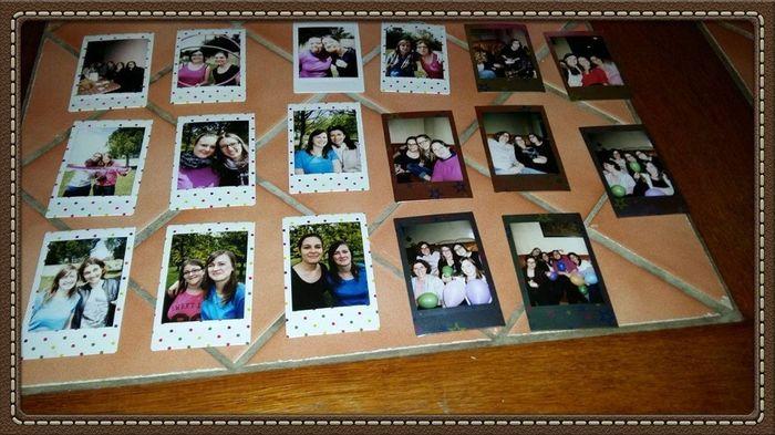 Polaroid lors de mon EVJF
