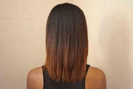 Cheveux afro-antillais défrisés