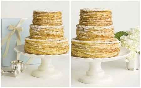 gâteau de crêpes, weeding cake