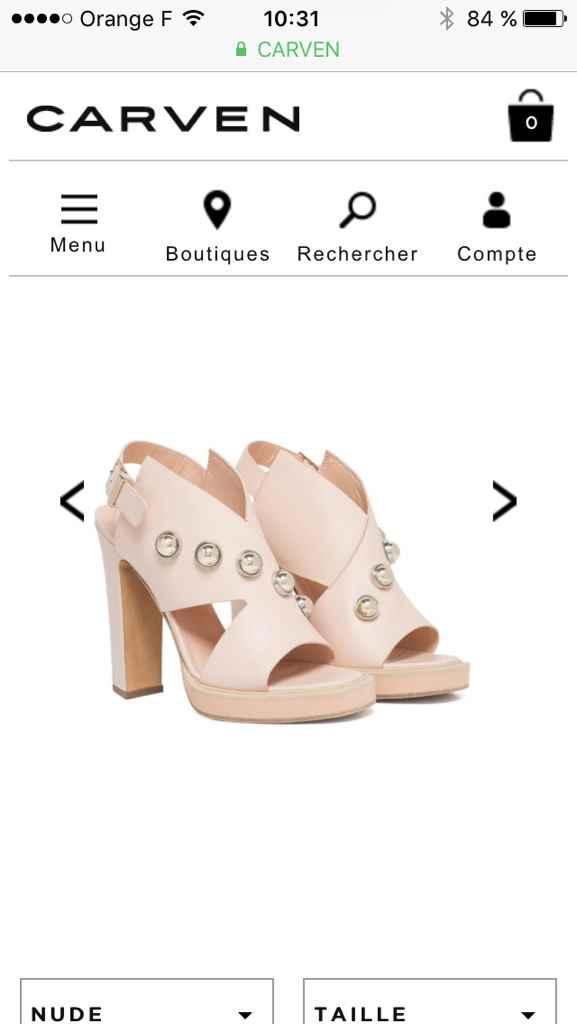 Montrez-moi vos chaussures de mariée - 1