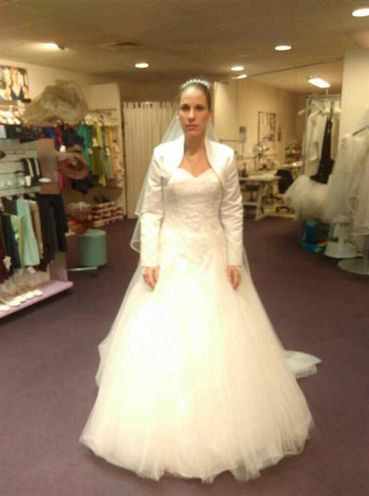 Accessoire pour une mariée d'avril - 1