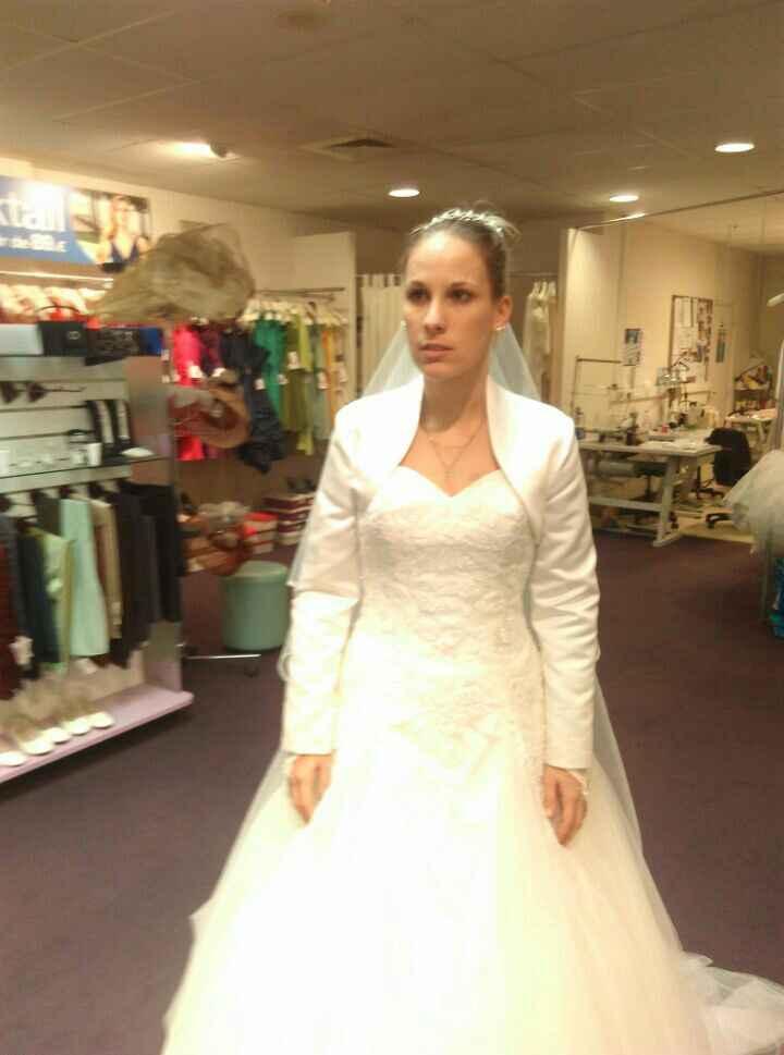 Accessoire pour une mariée d'avril - 2
