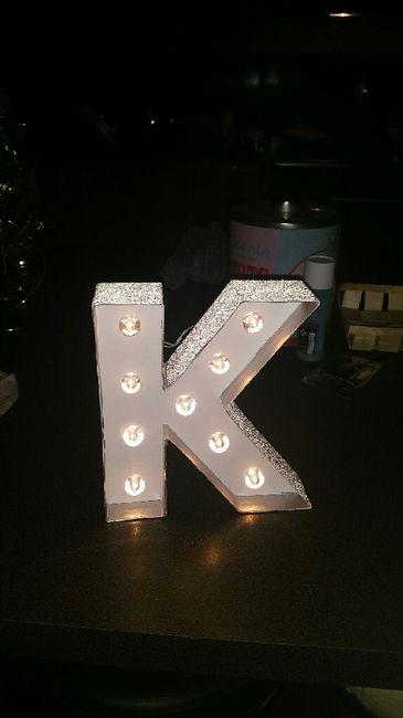Lettre lumineuse hema - 2