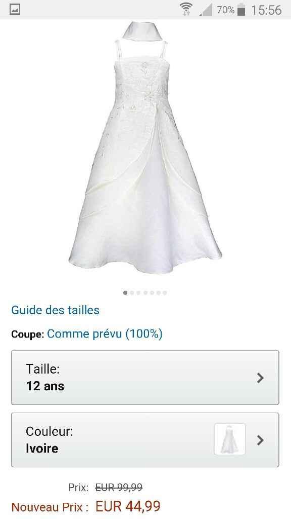 Robe demoiselles d'honneur - 1