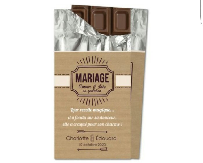 Idées pour mariage theme chocolat?? - 2
