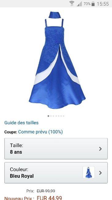 Robe demoiselles d'honneur - 2