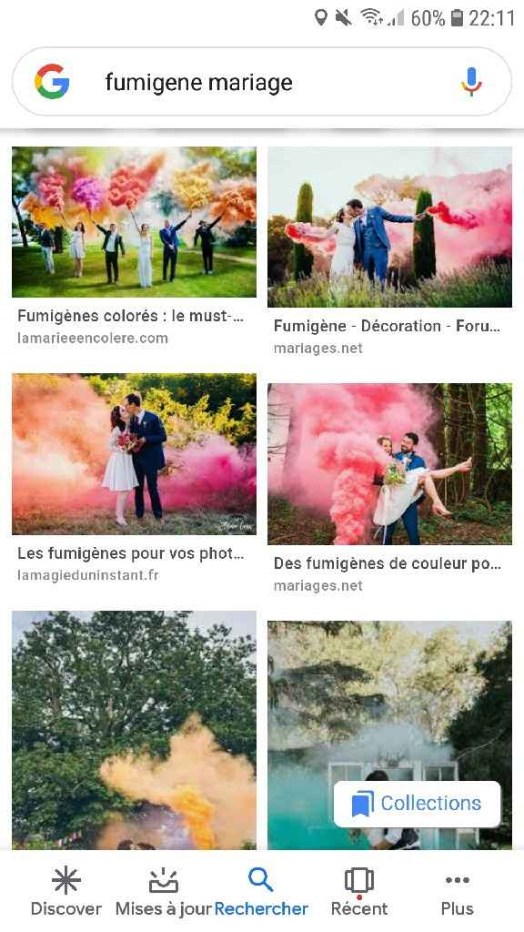 Fumigènes à main...photos - 1