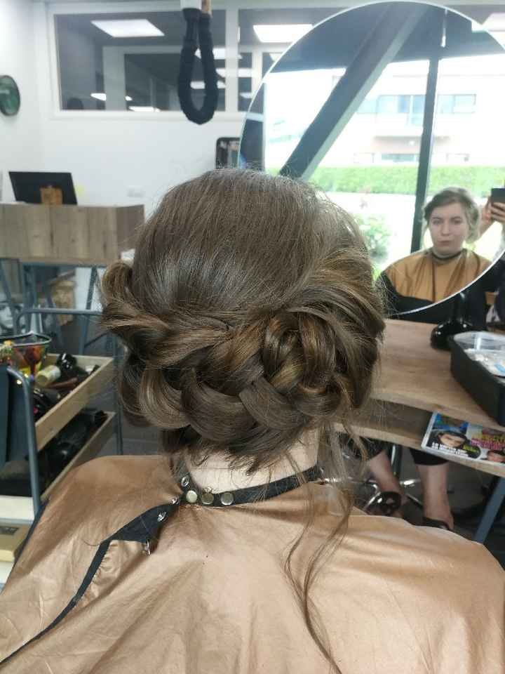 Essai coiffure validé - 2