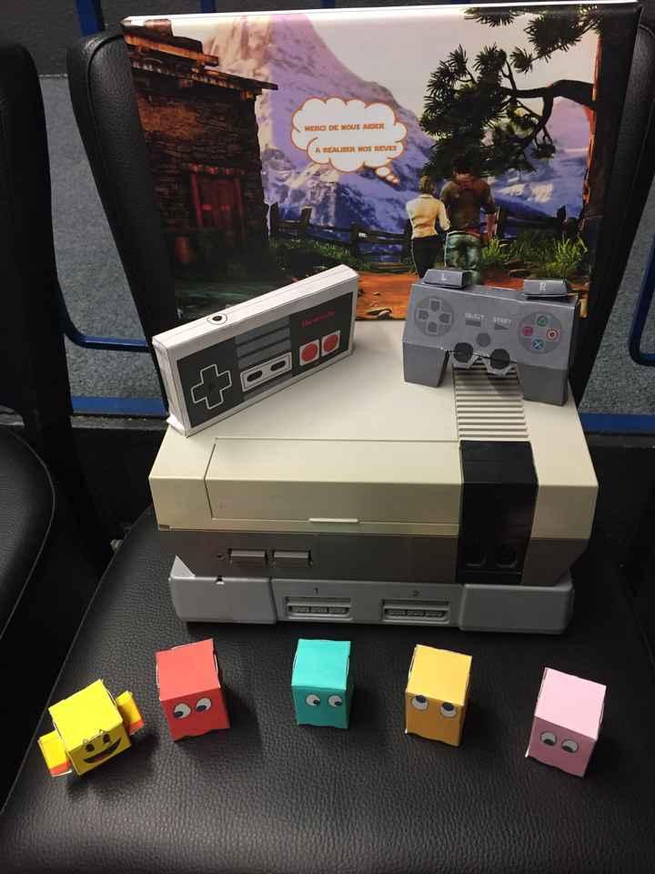 Décoration table thème jeux vidéo - 1