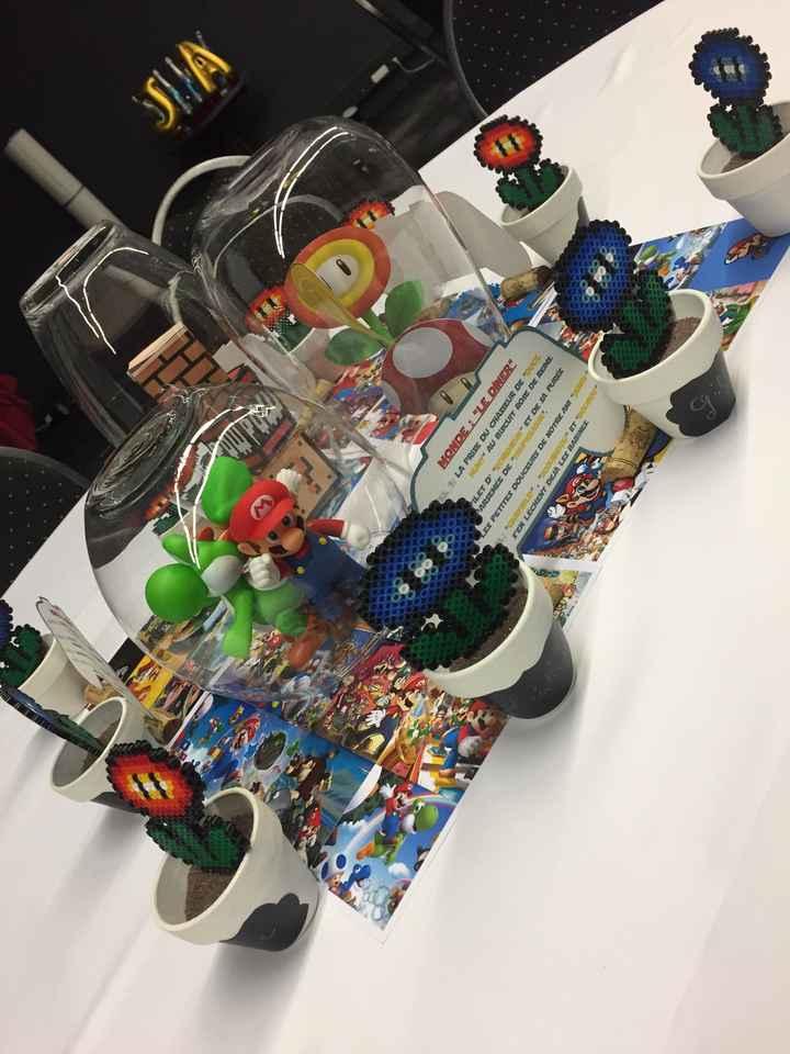 Décoration table thème jeux vidéo - 5