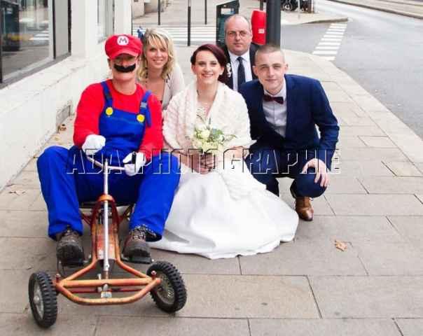 Nous avons eu la venue de mario en personne :)