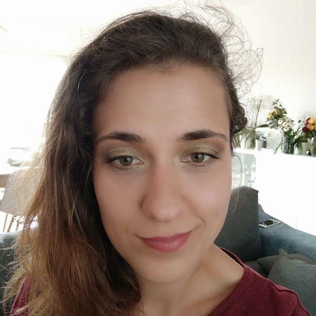 Essai maquillage^^ vous en pensez quoi ? 1