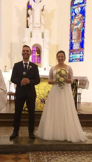 Mariage réussi du 26/09 1