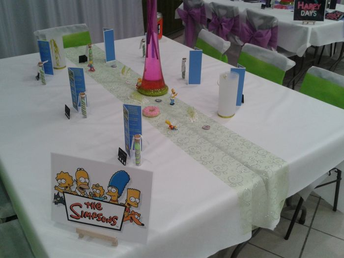 Table Simpsons