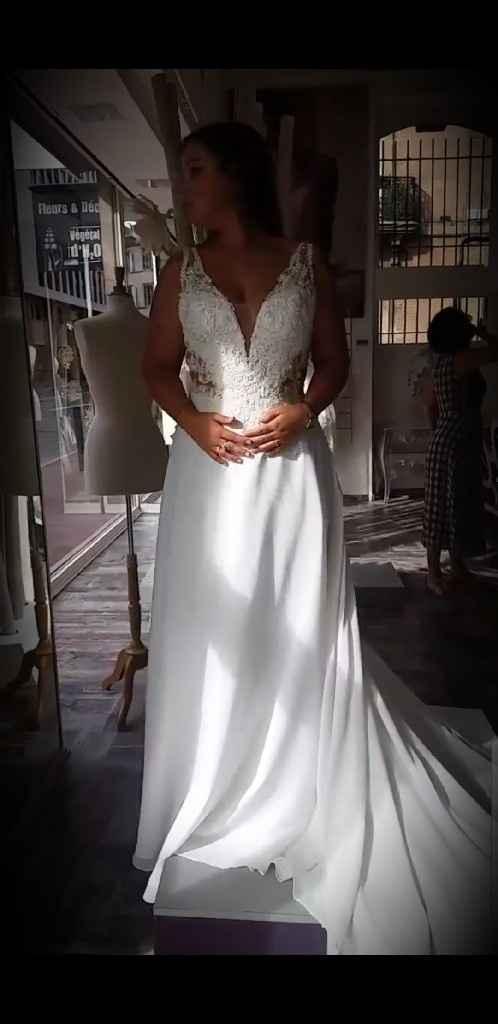 Toulousaines Boutique Robe de mariee fermée - 1