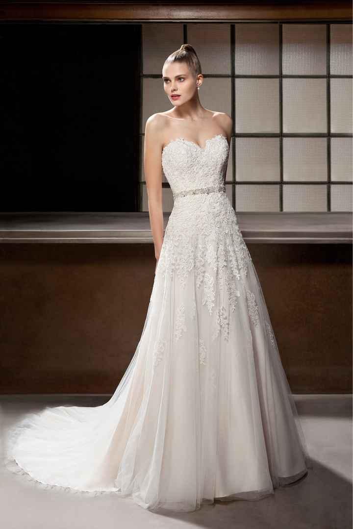 Robe de mariée: Avec ou sans dentelle ? - 1