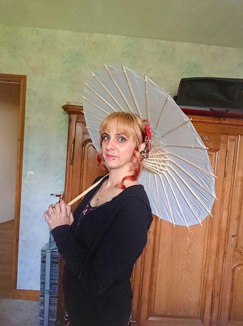 j'ai toujours voulu une ombrelle comme ça !