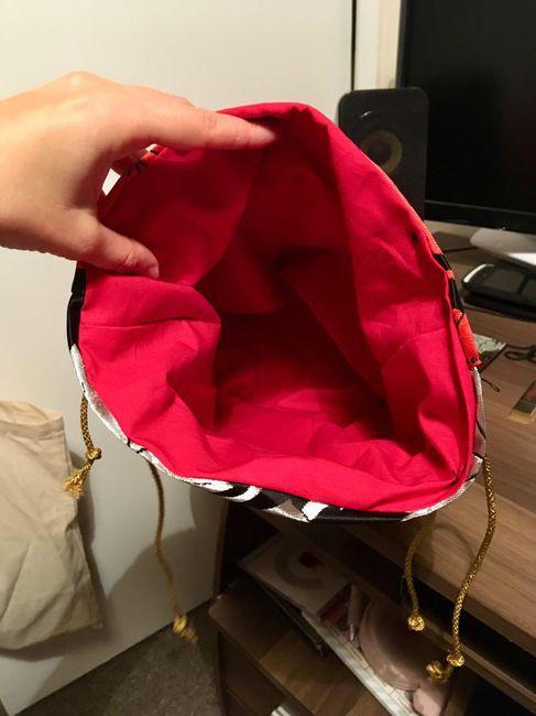 Petit sac fait main assorti à ma robe - 3