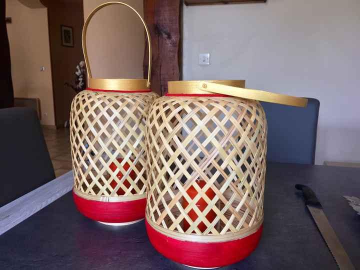 Petit Diy: lanternes asiatiques avec bougies - 1