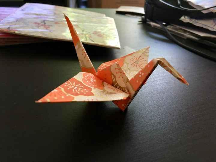 diy de la matinée - Origami assortis - 1