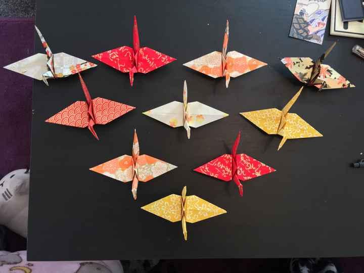 diy de la matinée - Origami assortis - 3