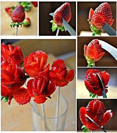 Célèbre Des idées de décoration et de gâteaux à base de fraises  WL67