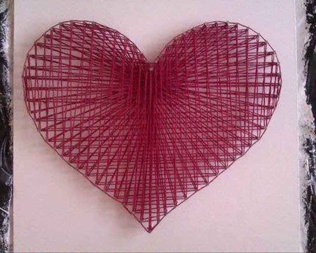 Tuto coeur en fil