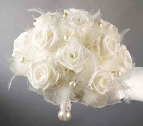 bouquet plumes