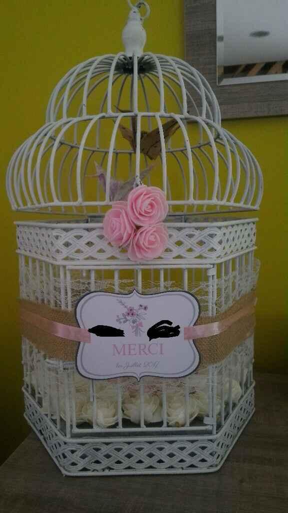 Besoin d'avis urne cage oiseaux. - 1