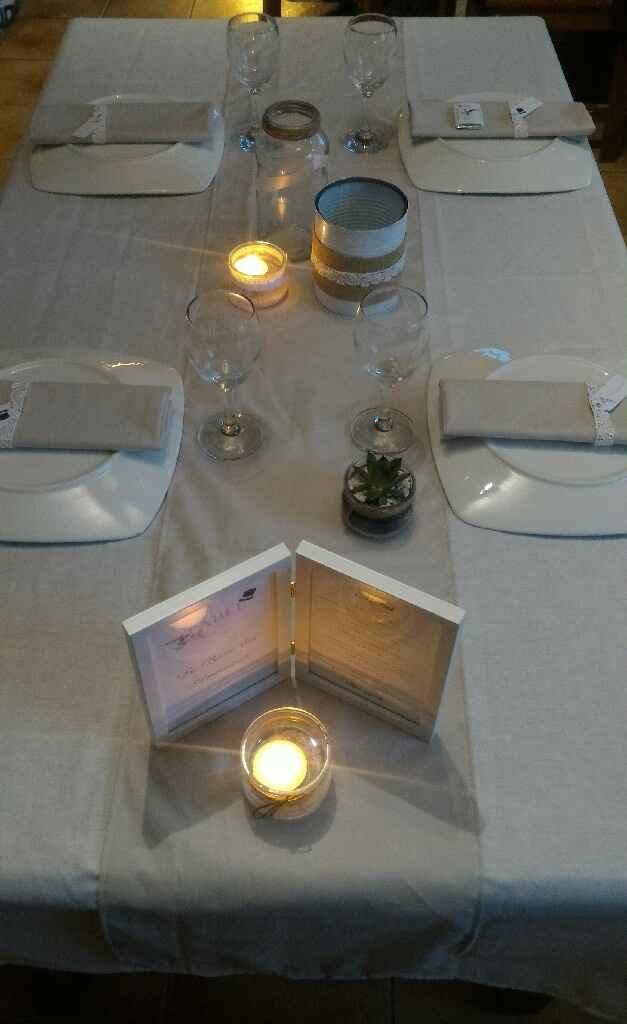 Essai de table champêtre - 1