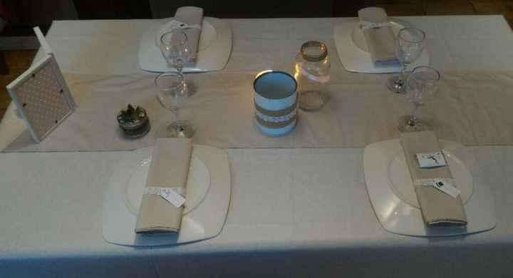Essai de table champêtre - 2