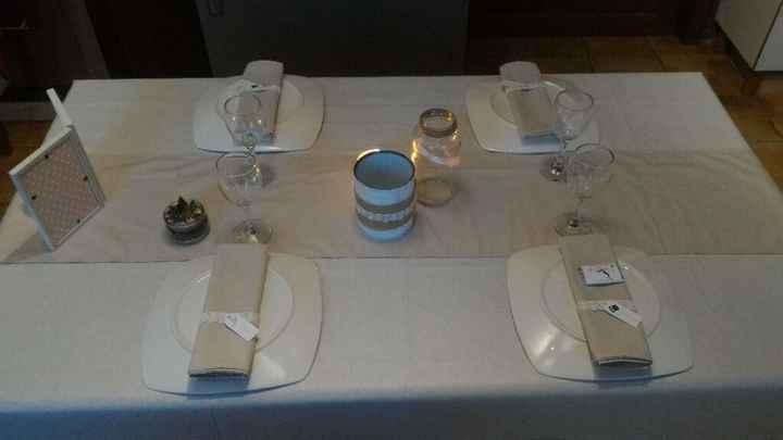 Essai de table champêtre - 4