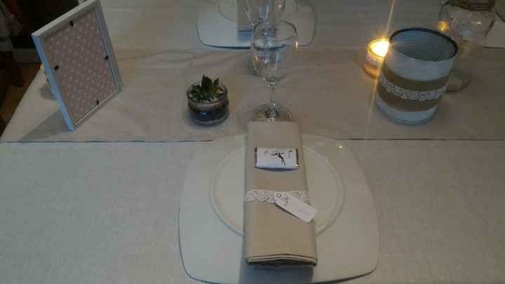 Essai de table champêtre - 6