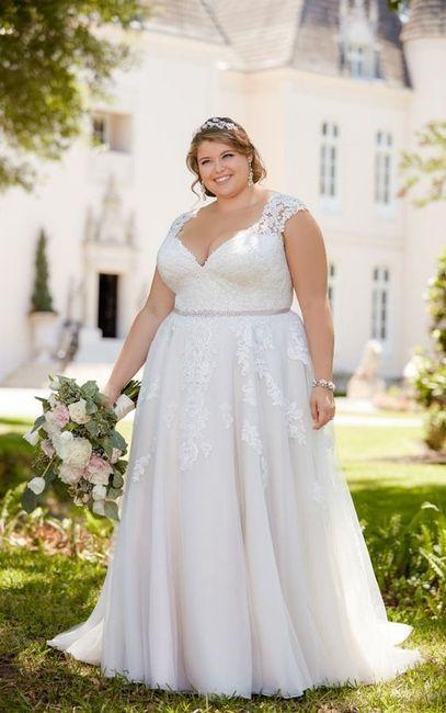 Robe de mariée grande taille : Choisissez