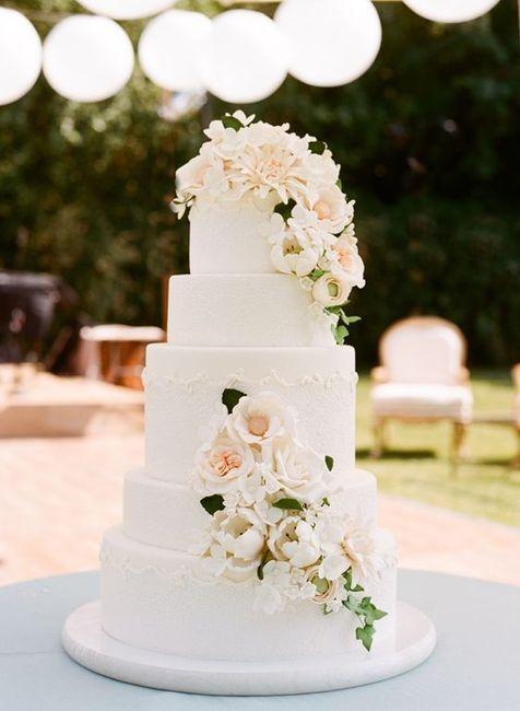 Romantique ou Bohème ? Le wedding cake 🍰 1