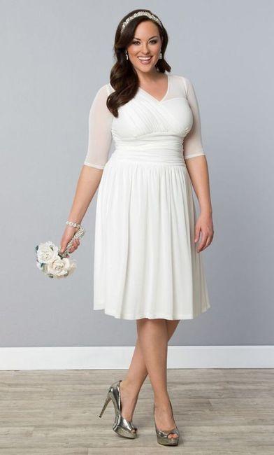 Crée ta robe de mariée : la longueur 2