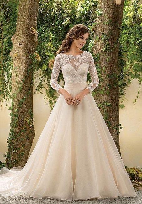 Crée ta robe de mariée : les manches 3