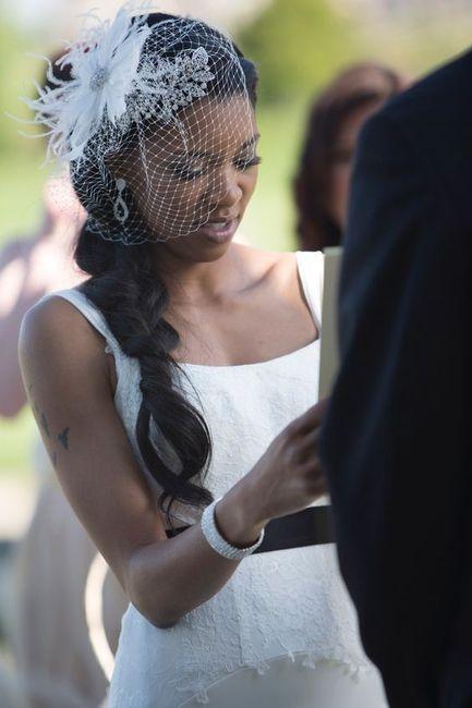 Crée ta robe de mariée : le voile 2