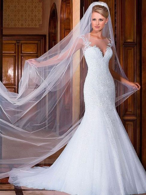 Crée ta robe de mariée : le voile 1