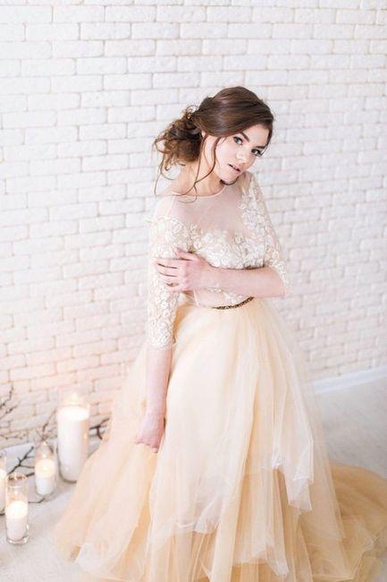 Crée ta robe de mariée : la couleur 2