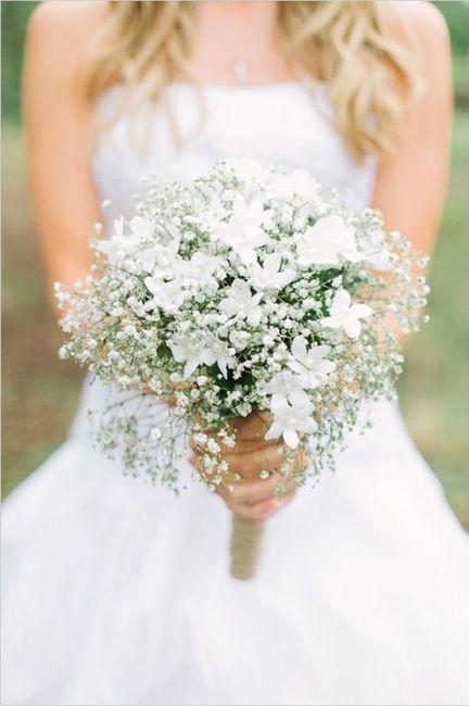 Crée ta robe de mariée : le bouquet 1
