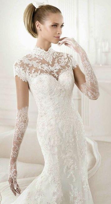 Crée ta robe de mariée : les gants 1